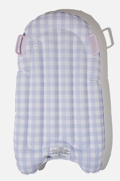 Inflatable Boogie Board, LILAC GINGHAM