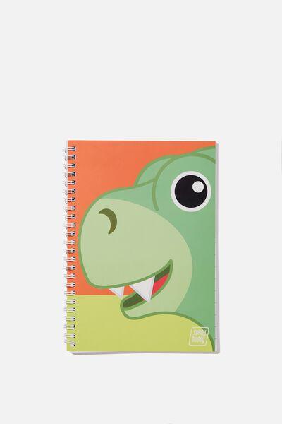 Sunny Buddy A5 Flip It Notebook, JACK STRIPE