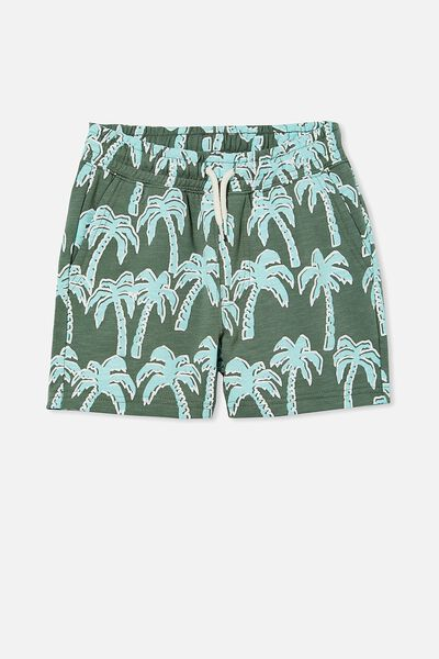 Henry Slouch Short 60/40, SWAG GREEN/WILD PALM
