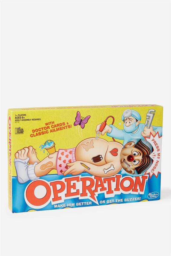 Operation, B2176 OPERATION