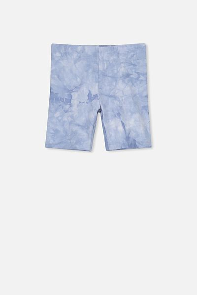 Hailey Short, DUSTY BLUE TIE DYE