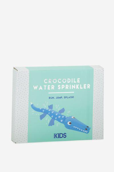 Kids Crocodile Sprinkler, MULTICOLOURED