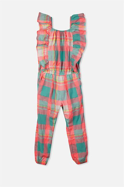 Kieri Long Jumpsuit, MADRAS CHECK