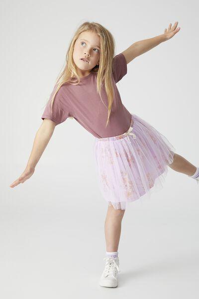 Sadie Dress Up Skirt, PALE VIOLET SALT LAKE FLORAL