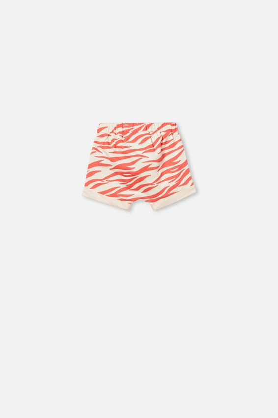 Sawyer Short, DARK VANILLA/CORAL CRUSH MARTY ZEBRA