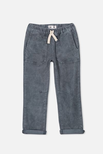 Skate Pant, DUSTY BLUE CORD