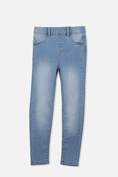 Jordan Jegging, MID BLUE WASH