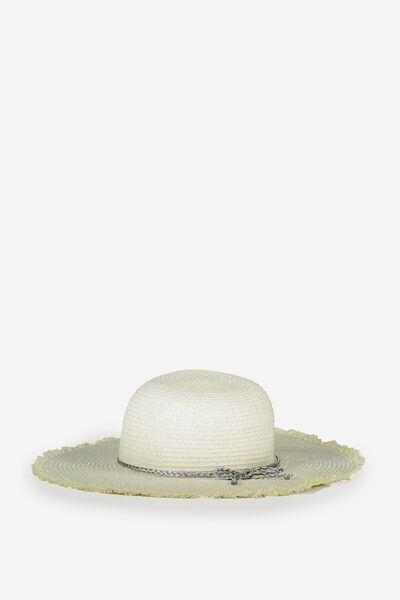 Floppy Hat, VANILLA/RAINBOW