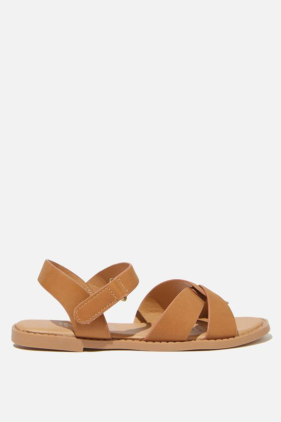 Fisherman Weave Sandal, TAN