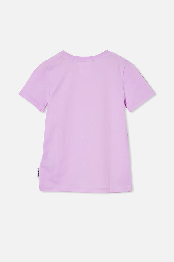 License Short Sleeve Tee, LCN SAN GUDETAMA ITCH/PALE VIOLET