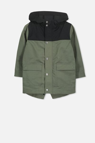 Albert Anorak, WINTER GREEN/PHANTOM SPLICE
