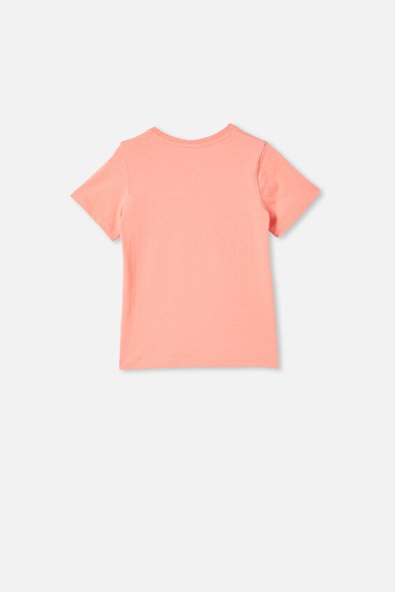 Penelope Short Sleeve Tee, MUSK MELON/GIRLS TO THE FRONT