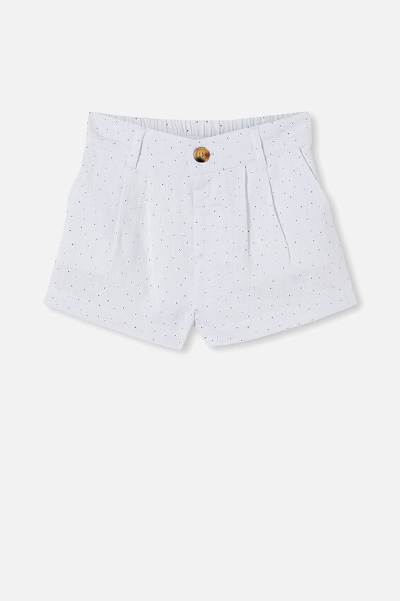 Cassidy Short, WHITE PUFF FLORAL
