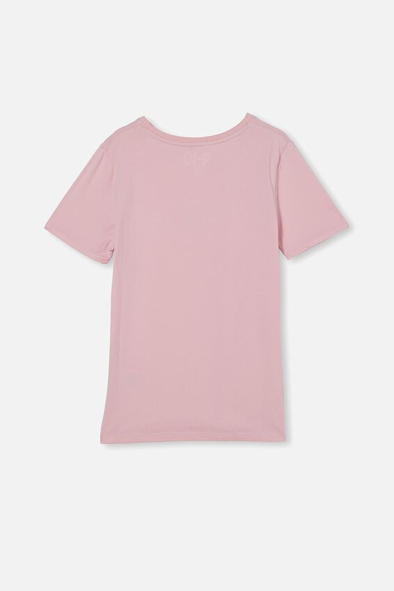 Penelope Short Sleeve Tee, MARSHMALLOW/IT S GONNA BE OKAY