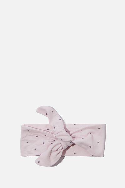 The Tie Headband, LAVENDER FOG/DUSK PURPLE BETTY SPOT