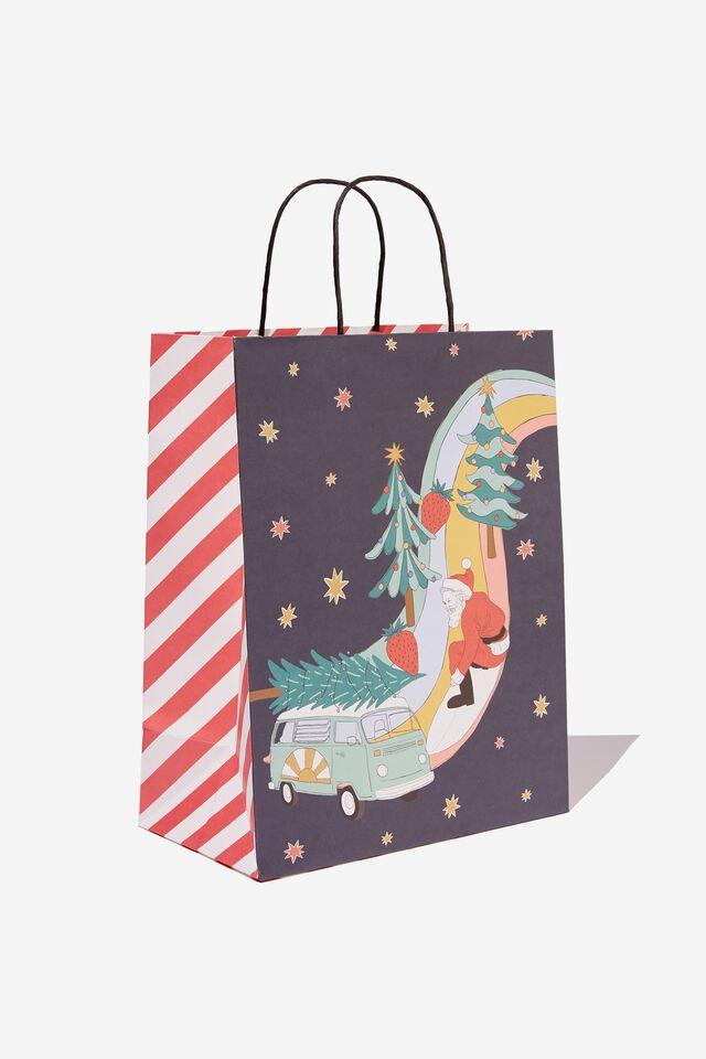Christmas Gift Bag - Medium, AUSTRALIAN CHRISTMAS