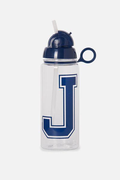 Spring Drink Bottle, BLUE J