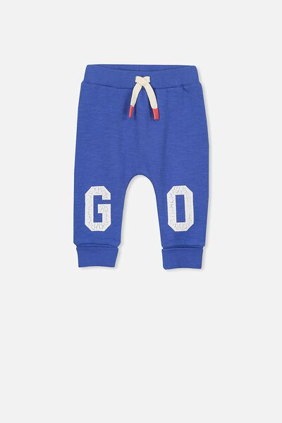 Shelby Trackpant, SCUBA BLUE/GO