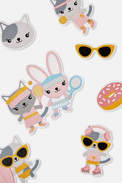 Sunny Buddy Scratch And Scent Sticker, AVA