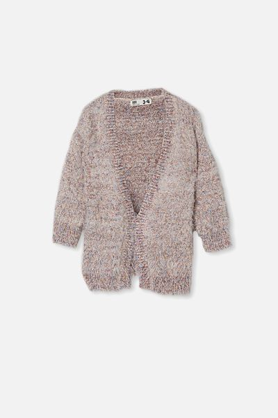 Dakota Sparkle Cardigan, RAINBOW SPARKLE