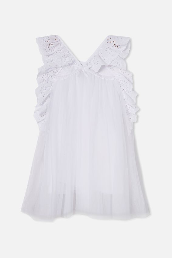 Isabell Dress Up Dress, WHITE