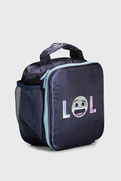 Emoji Personalised Lunch Bag, LOL EMOJI PERSONALISED