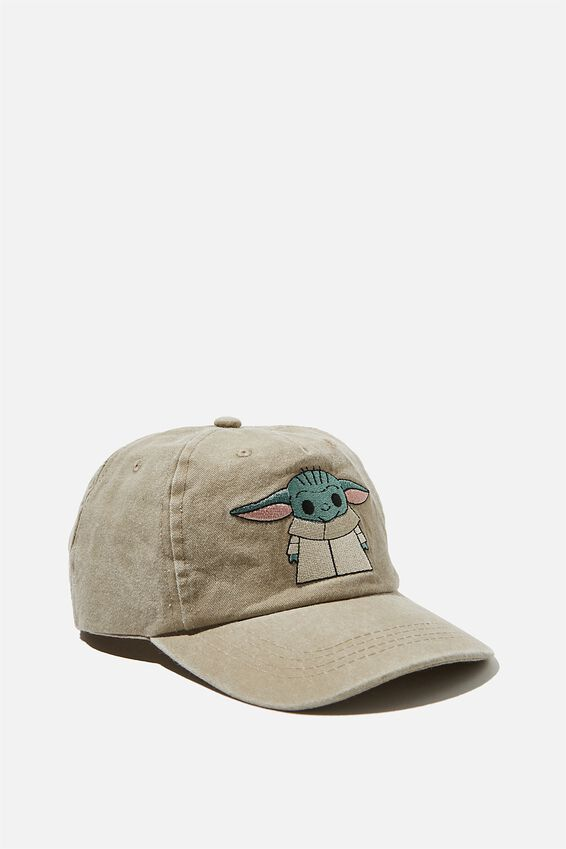 Licensed Baseball Cap Old Style Number, LCN BABY YODA