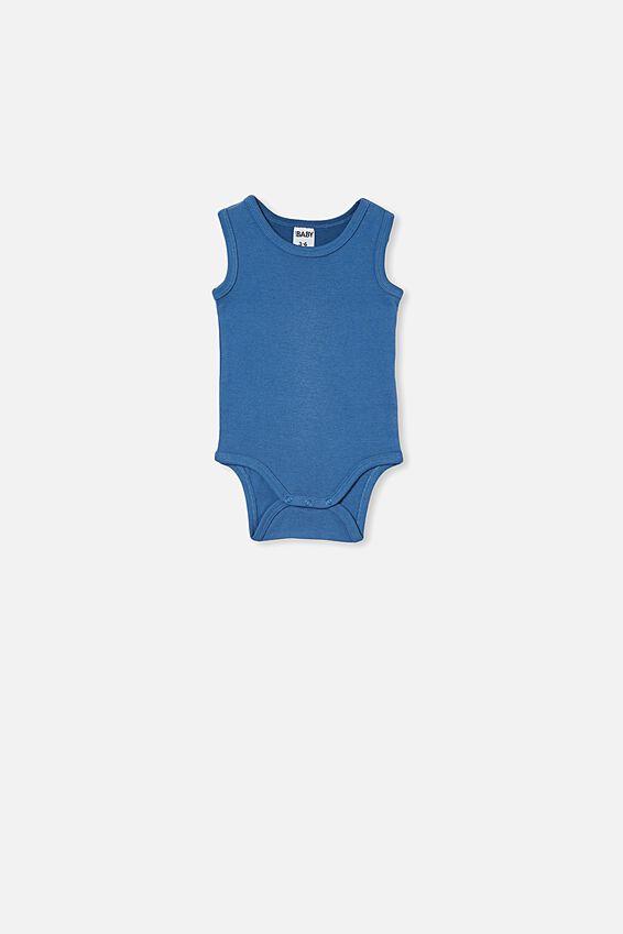 The Singlet Bubbysuit, PETTY BLUE