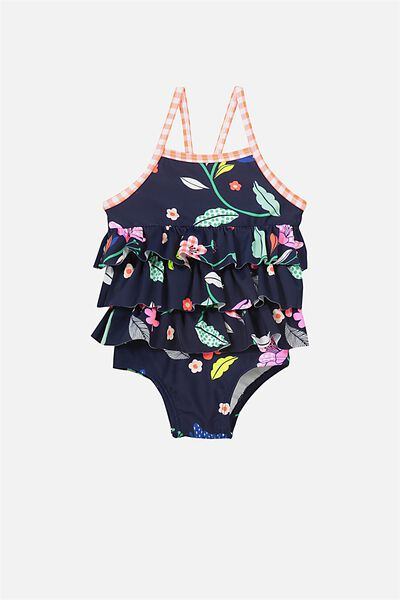 Bodhi One Piece, PEACOAT/BRIGHT FLORAL