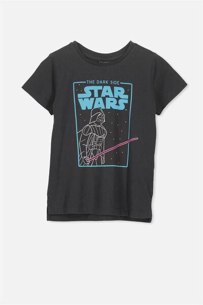Short Sleeve License Tee, PHANTOM/THE DARK SIDE STAR WARS