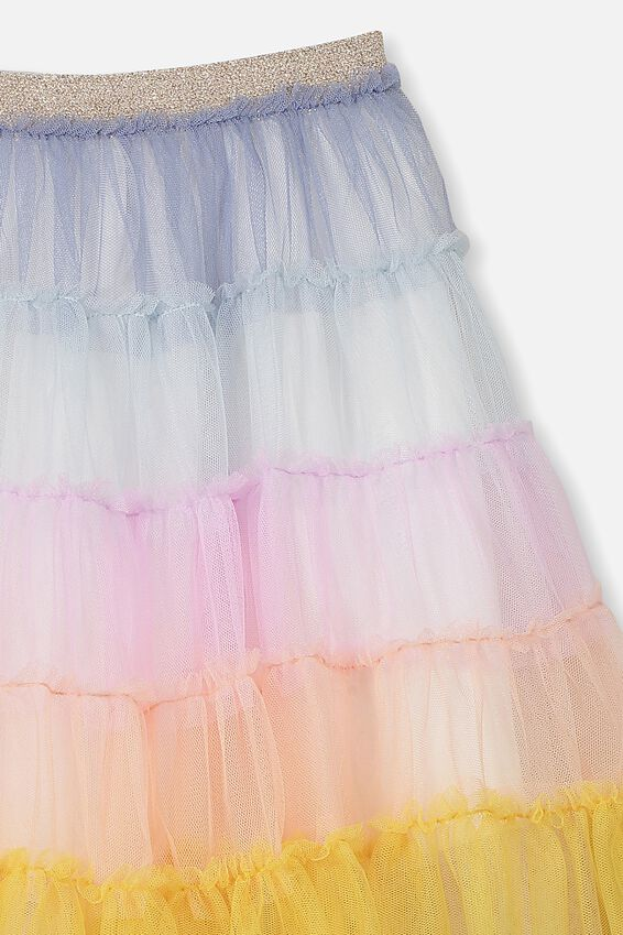 Trixiebelle Tulle Skirt, RAINBOW SUNSET