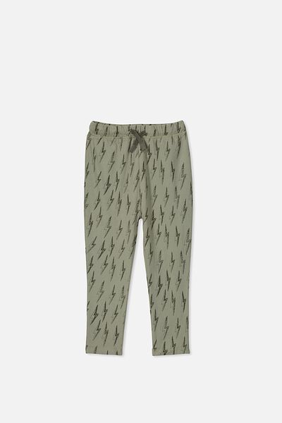 Brooklyn Slouch Pant, SAGE GREEN BOLTS