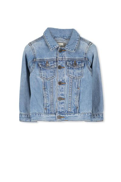 Harvey Denim Jacket, ORIGINAL WASH