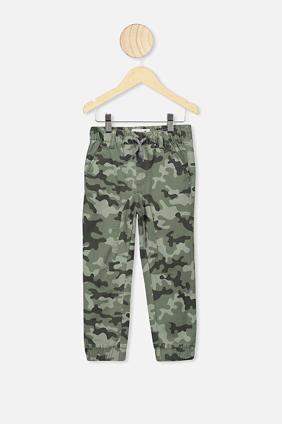 Logan Cuffed Pants, NEW CAMO