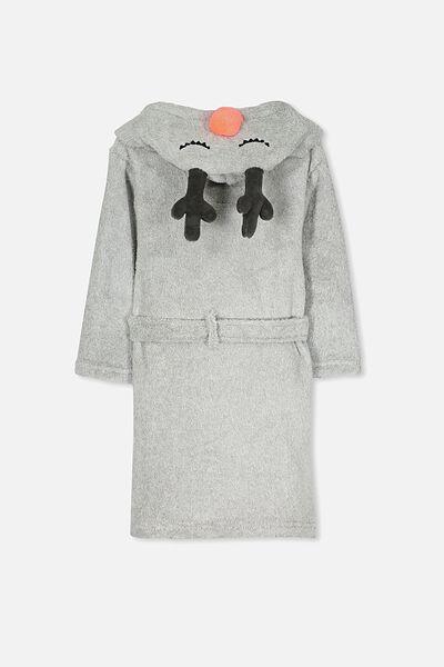 Boys Hooded Gown, RILEY THE REINDEER