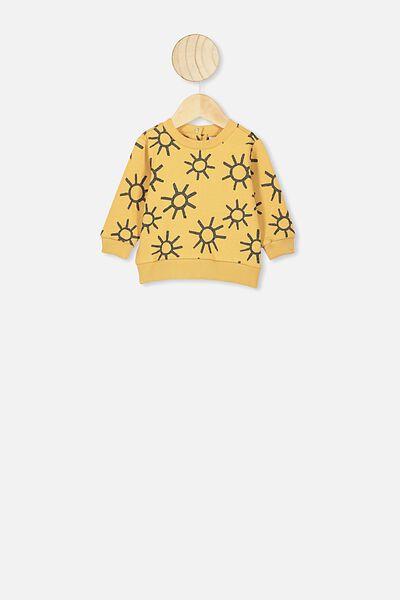 Billie Sweater, VINTAGE HONEY/SKETCHY SUNS