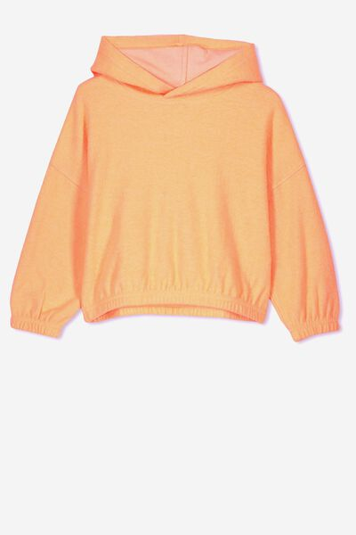 a51e2dcc6 Suvi Crop Hoodie, TROPICAL ORANGE. Cotton On Kids. Suvi Crop Hoodie