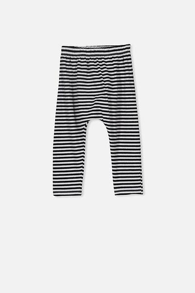 The Legging, CHRIS STRIPE WHITE/BLACK