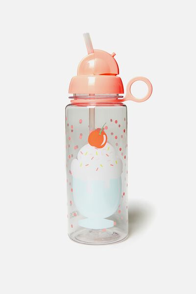 Spring Drink Bottle, ORANGE SUNDAE