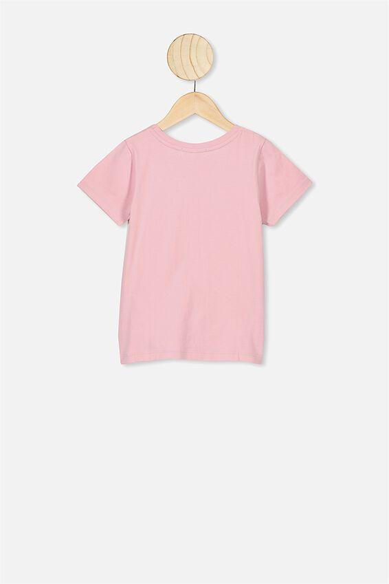Lux Short Sleeve Tee, LCN DIS BLOSSOM PINK/SLEEPING BEAUTY AURORA