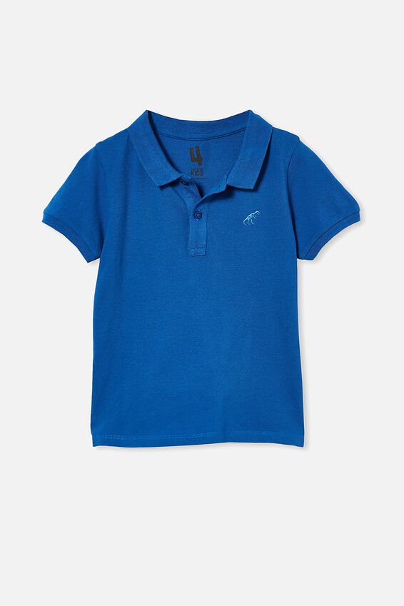 Kendricks Polo, RETRO BLUE/DINO