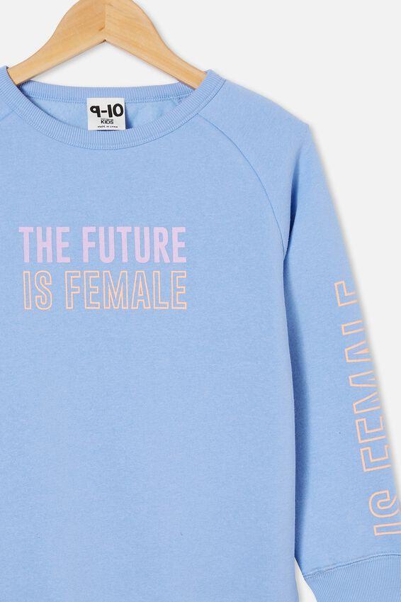 Mila Crew, DUSK BLUE/ FUTURE IS FEMALE