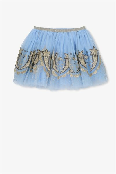 Trixiebelle Tulle Skirt, POWDER BLUE/BALLERINA