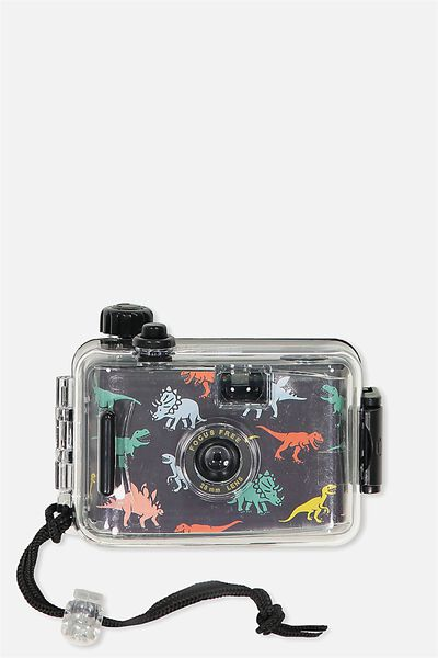 Kids Underwater Camera, GREY DINOSAUR