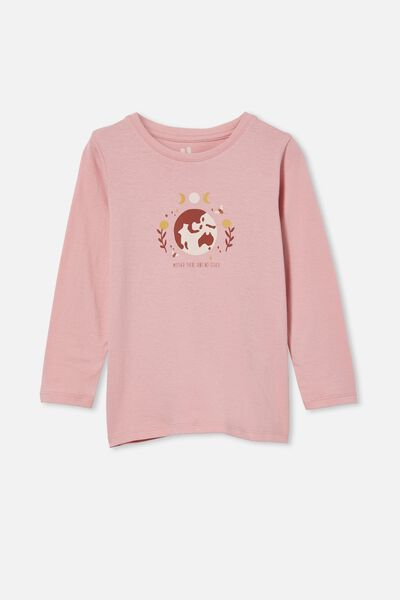 Penelope Long Sleeve Tee, MARSHMALLOW/AIN T NO OTHER