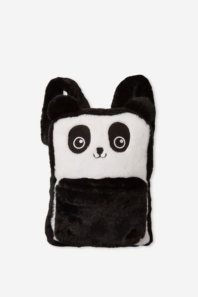 The Buddy Backpack, PLUSH BLACK
