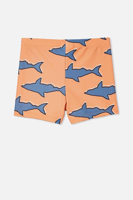 Billy Boyleg Swim Trunk, SHARK/MELON POP