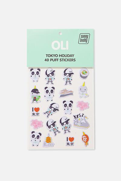 Sunny Buddy Tokyo Sticker, OLI
