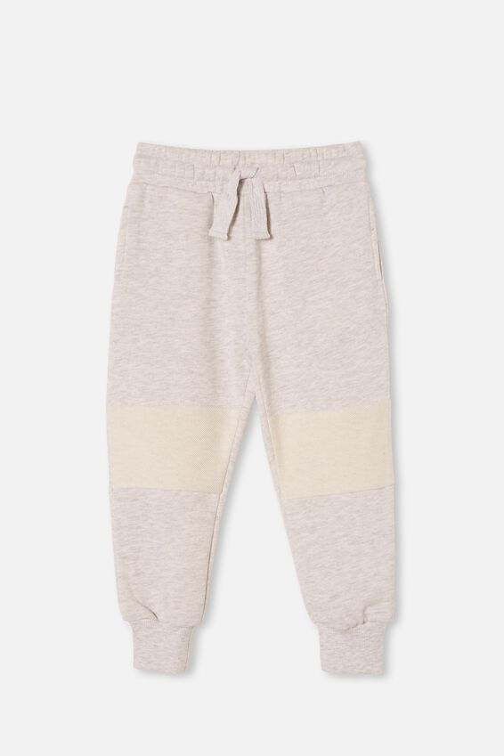 Marlo Trackpant, SUMMER GREY MARLE/REVERSE KNEE