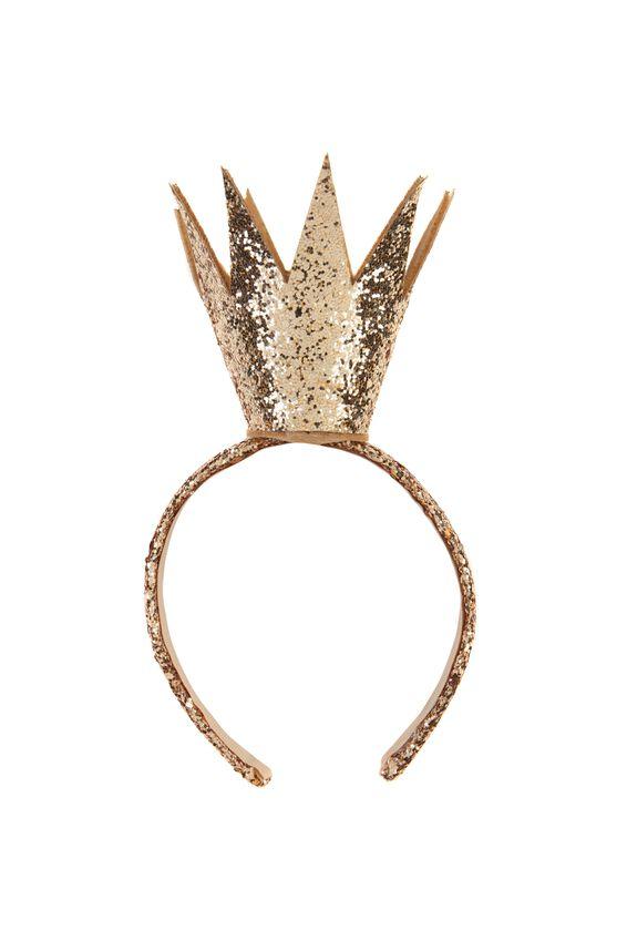 Queenie Crown, GOLDEN GLITTER